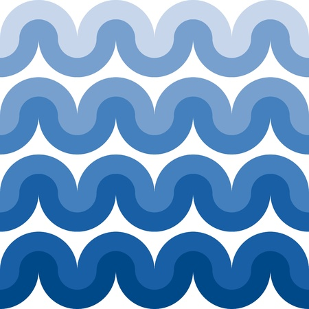curvilinear: geometric background Illustration