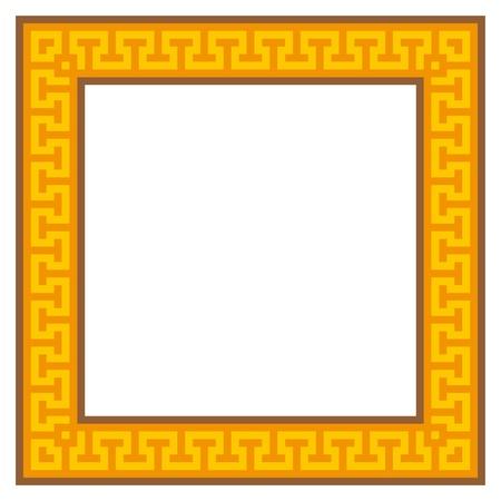 marcos decorados: marco de la geometr�a