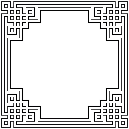 Geometric frame Stock Vector - 10665170