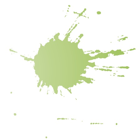 paint splat: Spot color Illustration