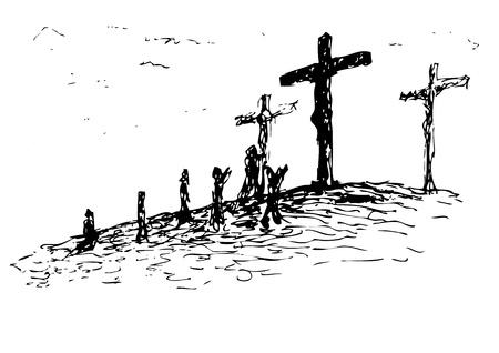 kruzifix: Golgota