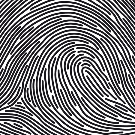 identity theft: fingerprint