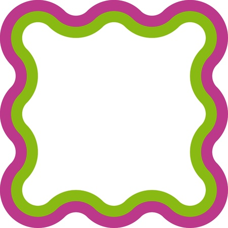 marcos decorados: marco de la geometría