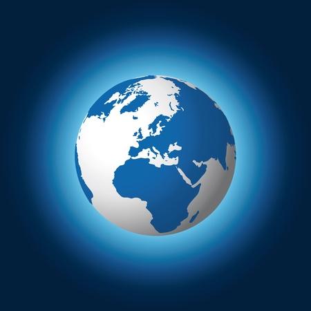 geo: world globe Illustration