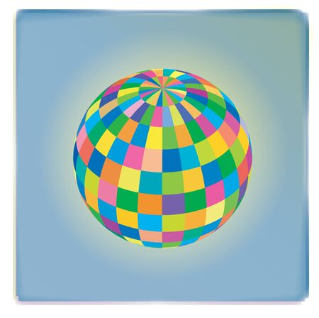 scalable: colored sphere