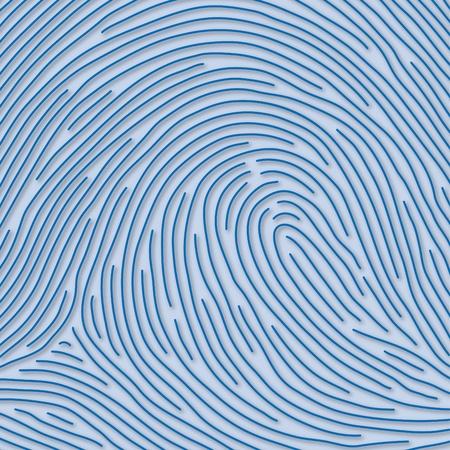 personal identity: huella dactilar Foto de archivo