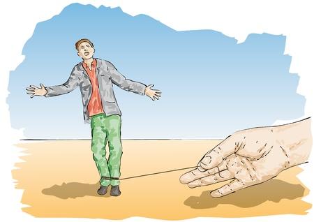 stumble Illustration