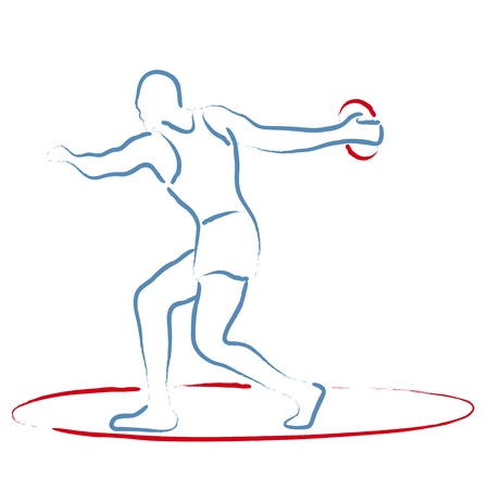discus: Discus Throw Illustration