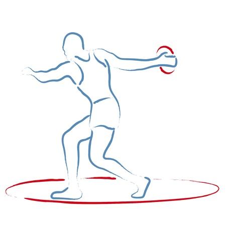 deportes olimpicos: Lanzamiento de disco