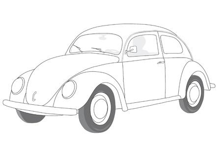 escarabajo: coche
