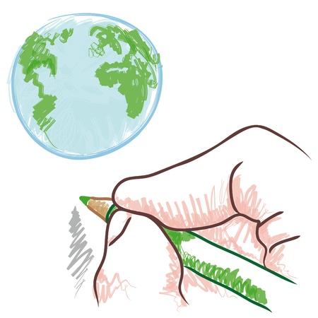 alternatively: draw the world