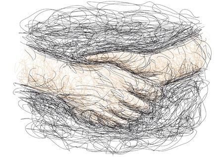 handshake Stock Vector - 10681644