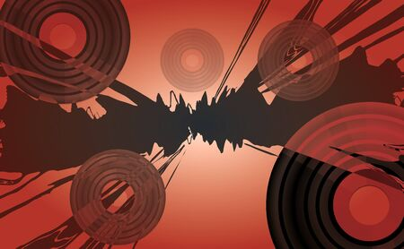 musical background Stock Photo - 10681620