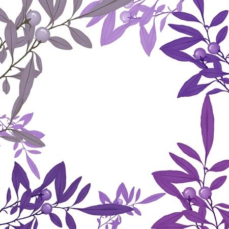 custom made: plant frame Stock Photo