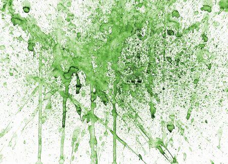figuration: splashes of color