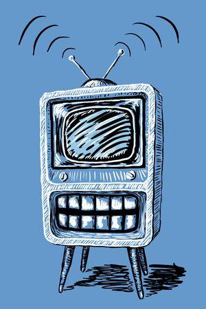 intrusive: Television