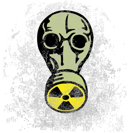 Nuclear nightmare Vector