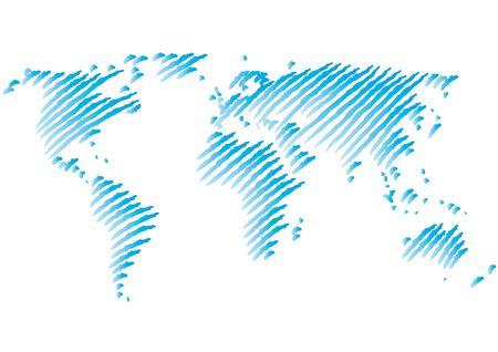 world map Stock Vector - 10691682