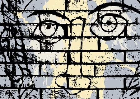 presencia: ojos en la pared