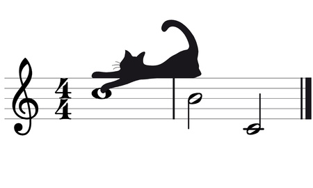 cats and music Stock Vector - 10691642