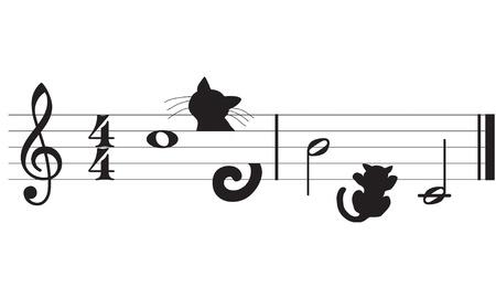 harmonious: cats and music