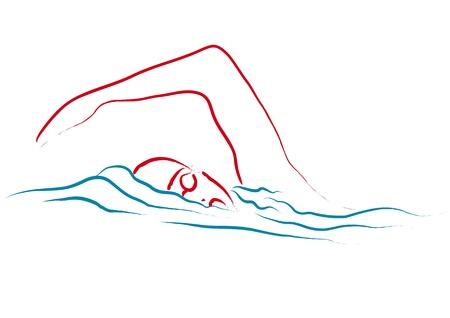 swimming pool: swim