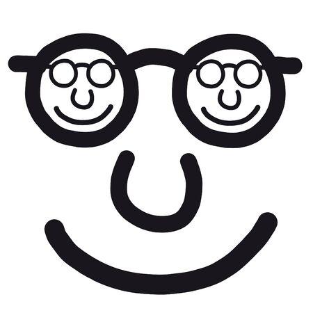 happy face Stock Vector - 10691716