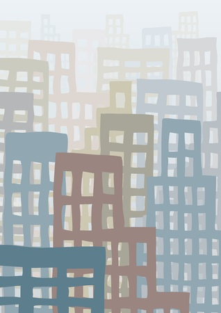 drilled: cityscape