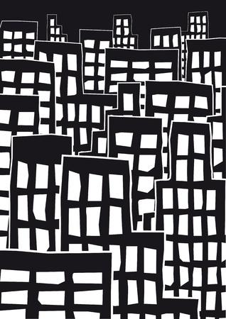 dull: paisaje urbano