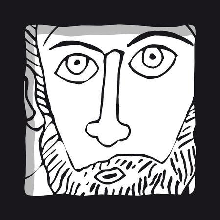 new testament: Look Illustration