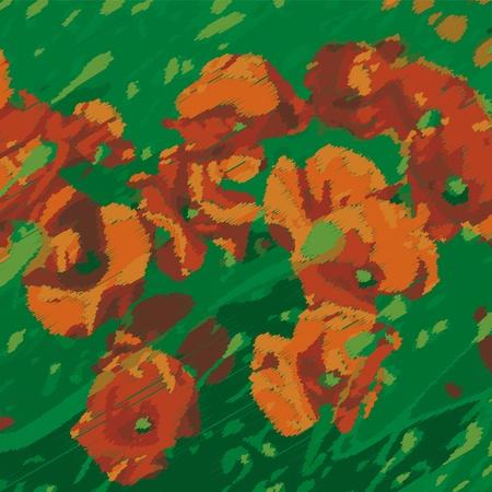flowering field: poppies