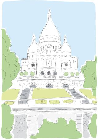 coeur: Le Sacre Coeur Illustration