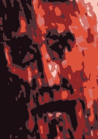 suffering: Passion of Jesus Illustration