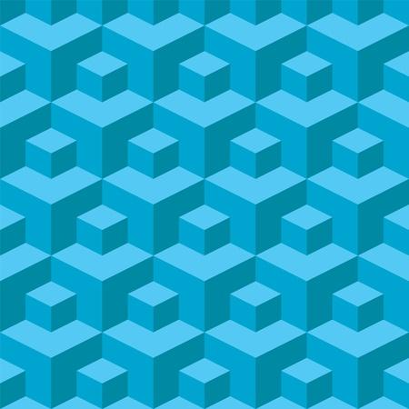 Pattern cubes Vector