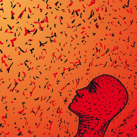 empathy: look around Illustration