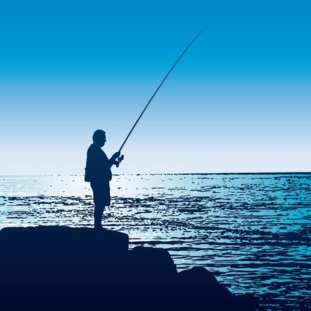 paciencia: Pescador