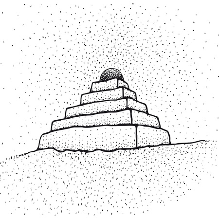 psychedelia: Ziggurat Illustration