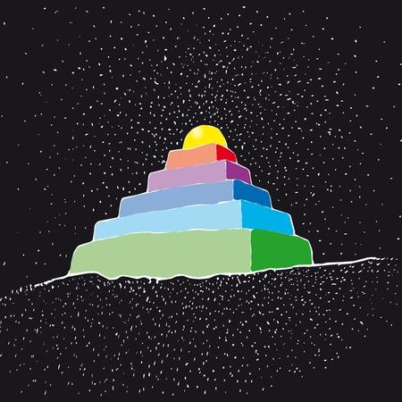 divinit�: Ziggurat Illustration