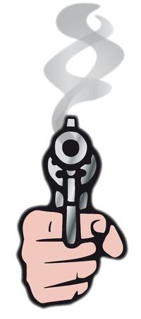 mugging: gun