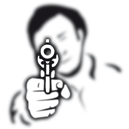 gun Stock Vector - 10726262