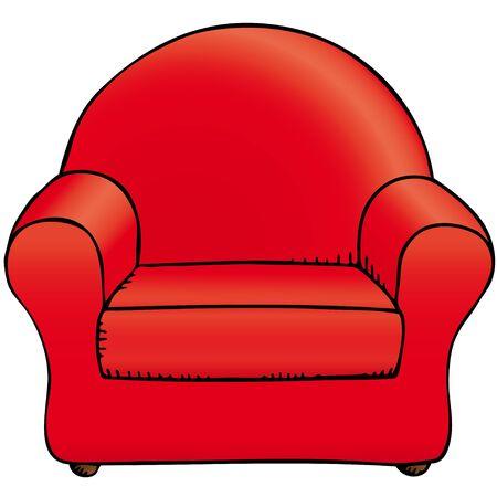 furnishing: chair Illustration