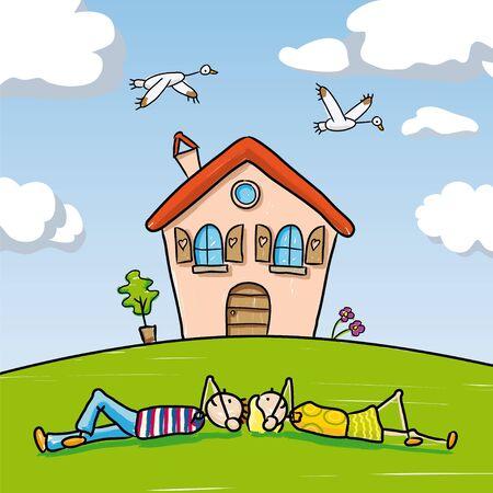 Dream Home: Dream Home Illustration