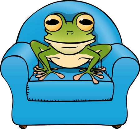 frog chair Stock Vector - 10726117