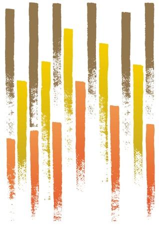 nuance: painted lines Illustration