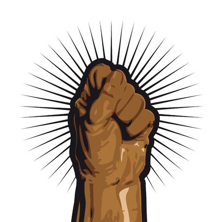 anti war: revolution Illustration