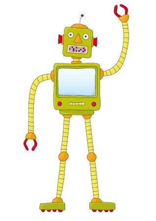 robot Stock Vector - 10726116
