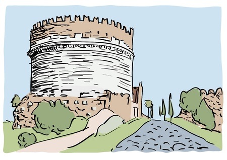 lazio: Appian Way