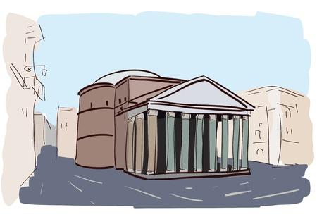 ancient rome: pantheon