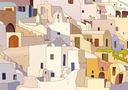 greek islands: Oia, Santorini