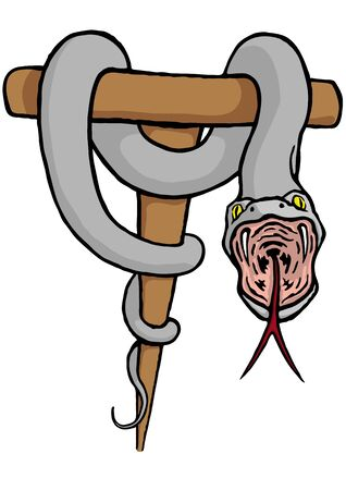 toxins: Snake on the stick